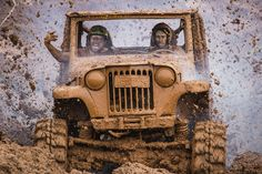 Jeep, Sendero, Off Road, Furgoneta Vieja, 4X4