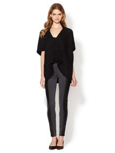 miha Stretch Leather Legging by Miha at Gilt