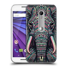 Head Case Designs Elephant Aztec Animal Faces 2 Hard Back Case for Motorola Moto G Gen) Thing 1, Animal Faces, Iphone Case Covers, Iphone 11, Aztec, Elephant, Cute Outfits, Animals, Clothes