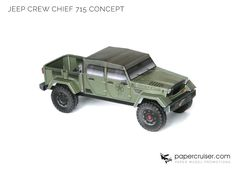 Jeep Crew Chief Concept Paper model