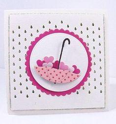 Memory Box: A Little Rain & Petite Umbrella