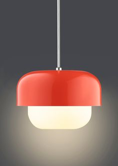 Add some Danish design to your home with this stylish Haipot Pendant Light by Dyberg Larsen.  An eye-catching lamp designed by Frank Kerdil