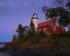 Eagle Harbor MI Lighthouse  From Steam and More Photography at http://www.steamandmorephotography.com/shipandseascapephotographs.html