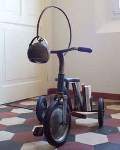 VELOCIPEDE~tricycle with a bell
