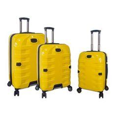Travelers Club Luggage, 3-pc. Hardside Spinner Luggage Set
