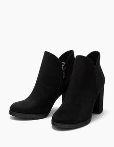 5c1374a0f5c Botas y Botines - Zapatos - COLECCIÓN - MUJER - Bershka Ecuador. Boots 2017Shoes  Heels ...