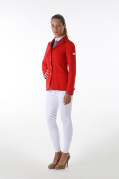 The Lubek Show Jacket by Animo Italia - Priced at £436 - Follow the link http://www.justriding.com and ask us about discounts on this price!!