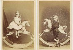 Оригинал взят у museum_cdm в Детские лошадки Сегодня речь пойдет о любимейших детских игрушках — лошадке на колесиках и лошадке-качалке. Это подборка лошадок из Англии, Германии и США конца XIX-нач. XX в.