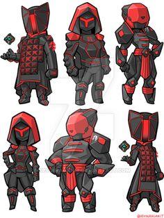 Destiny Siva Raid Armor by KevinRaganit.deviantart.com on @DeviantArt