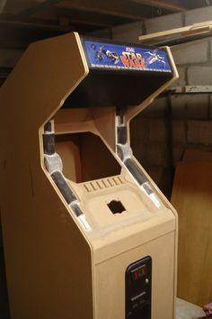 Star Wars Upright Arcade Cab - Scratch Build