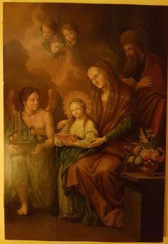 Attualmente nelle aste di #Catawiki: Santi Gioacchino e Anna, genitori della Vergine Maria  - Sec. XIX (1800)