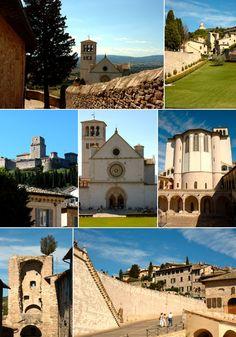 Basilicas of Assisi / Basílicas de Assis