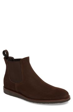 Decide to buy To Boot New York Corden Chelsea Boot (Men), Image Leather Booties, Suede Boots, To Boot New York, Ideal Fit, Driving Shoes, Chelsea Boots, Men Image, Nordstrom, Booty