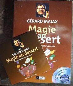 Magie au dessert - 80 tours pour épater vos amis par Gérard Majax avec DVD PC MAC (2000)