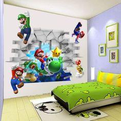Mario Wall Mural-Buy Cheap Mario