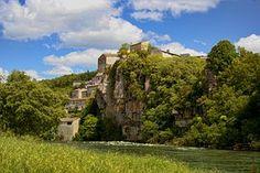 Balazuc, Ardèche, Natur, Dorf