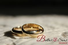 Butler & Sons Design - Customer Artwork and Photography; wedding bands