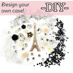 DIY Case Design - Easy and cute way to make your phone case stand out from the rest!