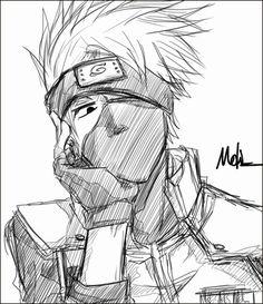 Whatchya doin there gorgeous Kakashi? Naruto Kakashi, Anime Naruto, Kakashi Sharingan, Naruto Teams, Naruto Shippuden Anime, Manga Anime, Boruto, Naruto Drawings, Kakashi Drawing