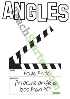 Angle Clapper |Use connected rulers to illustrate angles one side with circles one with dots