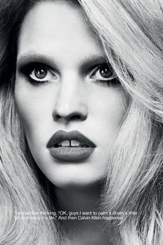 visual optimism; fashion editorials, shows, campaigns & more!: the accidental supermodel: lara stone by erik torstensson for industrie #7