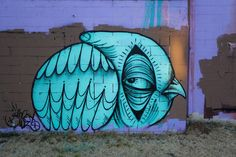 Bay Area Street Art, Ghost Owl. Owl graffiti. | Owl street art ...