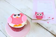 Tutorial: How to make Fondant Owl Cupcake Toppers
