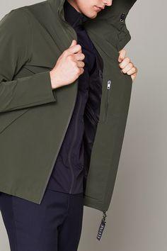 Elvine Toby Jacket Army Green - Elvine Shop