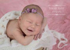 Sarah Anne Photography | Ft. Thomas, KY | Newborn smiling photo