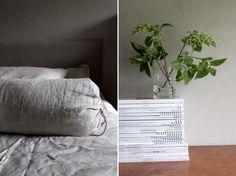 #softcolors #interior # bedroom #lin #grey #kalkpaint #greens Tuoreita sisustuskuvia meiltä / terävä mustavalkoisuus on vain muisto