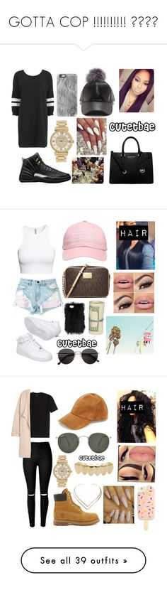 GOTTA COP IT !!!!!!!!!!  by cutetbae on Polyvore featuring polyvore, fashion, style, Nümph, Casetify, Michael Kors, clothing, Alexander Wang, H&M, MICHAEL Michael Kors, NIKE, Steve Madden, Timberland, Kofta, Tory Burch, Ray-Ban, Natalie B, Vince, NLY Trend, Christian Louboutin, Chicwish, MAC Cosmetics, Givenchy, Victoria's Secret, Abercrombie & Fitch, Converse, Sam & Libby, Superdry, Chloé, Moschino, Lime Crime, Topshop, Retrò, BERRICLE, Anastasia Beverly Hills, Trussardi, Hermès…