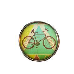 Boho Bike snap charm, boho charm, boho snap necklace, boho snap bracelet, snap jewelry, snap jewellry, bohemian, ginger snaps, noosa by TheSnapExchange on Etsy  www.facebook.com/thesnapexchange  #snapjewelry #noosa #gingersnaps #bohojewelry #bohemian