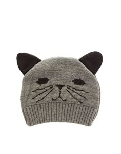 ASOS Cat Ears Knit Beanie