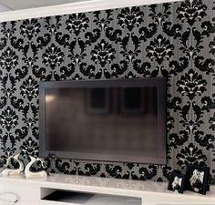 klassieke-behang-home-decor-achtergrond-muur-damast-behang-wandbekleding-3d-bloemen-zwart-fluwelen-achtergrond-woonkamer-tapete.jpg (500×477)