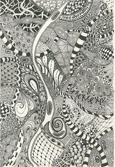 Expand your Zentangle repertoire by exploring ZIA (Zentangle-Inspired-Art).