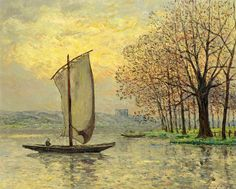 "maufra maxime the bank of the loire 1910 sotheby (from <a href=""http://www.oldpainters.org/picture.php?/30164/category/13215""></a>)"