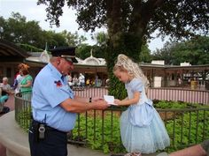 "The security guard who makes Disney dreams come true: Wieczorek, a security guard at Walt Disney World, asks kids in costume for their autographs. ""Their face brightens up,"" Wieczorek said of that moment when pint-size princesses and pirates realize they're being mistaken for the real thing. ""This is something so unbelievable for them. It gets them by surprise and they feel special."""