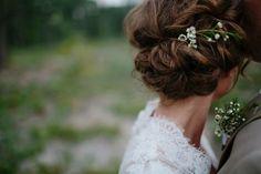 Flowers in Her Hair: Braids + Blooms Wedding Hair And Makeup, Bridal Hair, Hair Makeup, Pretty Hairstyles, Wedding Hairstyles, Hair Inspiration, Wedding Inspiration, Braut Make-up, Her Hair
