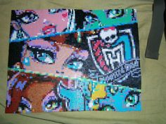 Monster High hama beads - El rincón del Hama