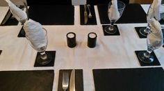 18 Piece Natural *WELSH SLATE* Placemats & Coasters Tablemats Dinner Drinks Mats