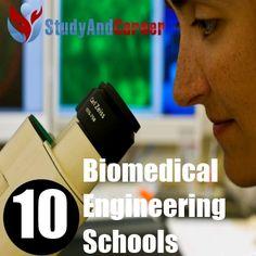 Top 10 Graduate Biomedical Engineering Schools
