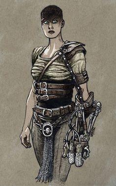 Furiosa by JNcomix.deviantart.com on @DeviantArt