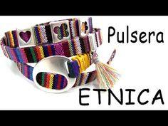 Abalorios Manualidades - Pulsera Etnica con Zamak - YouTube