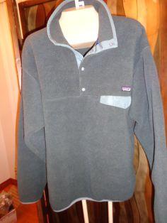 Sale Vintage Patagonia full zip Fleece black jacket by Simplemiles, $62.00