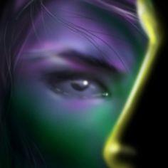 Titolo: 2 Facce Tecnica: disegnato con Photoshop By Laura Giordanengo