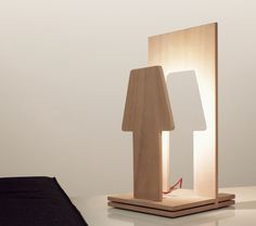 piùOmeno_WOOD_LED lamp by Paolo Ulian & Moreno Ratti made in Italy on CrowdyHouse #unique #lighting #design