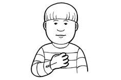 Harrastaa (Kuva: Elina Vanninen) School Signs, Sign Language, Fictional Characters, Art, Art Background, Kunst, Performing Arts, Fantasy Characters, Sign Language Art