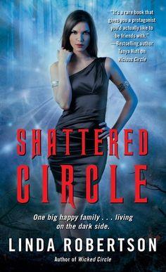Shattered Circle (Persephone Alcmedi, #6), Linda Robertson