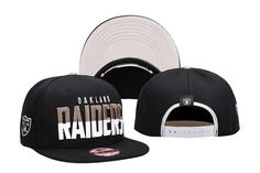 78e063d61ca NFL Oakland Raiders two-color embroidered classic New Era Hats 005