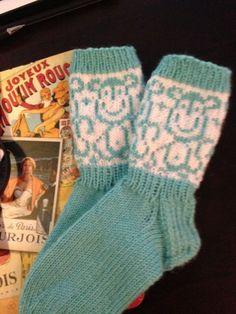 Monkey socks #seitsemäveljestä #novita